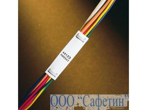 Бирка для кабеля под 2 хомута